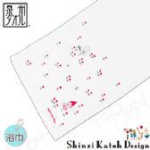 【クロワッサン科羅沙】日本毛巾~加藤真治童話故事系列~小紅帽浴巾 65*120CM