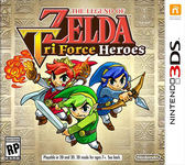 3DS The Legend of Zelda: TriForce Heroes 薩爾達傳說 三角神力3劍客(美版代購)