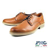 【IMAC】義大利小牛皮綁帶真皮休閒皮鞋  咖啡(70180-BR)