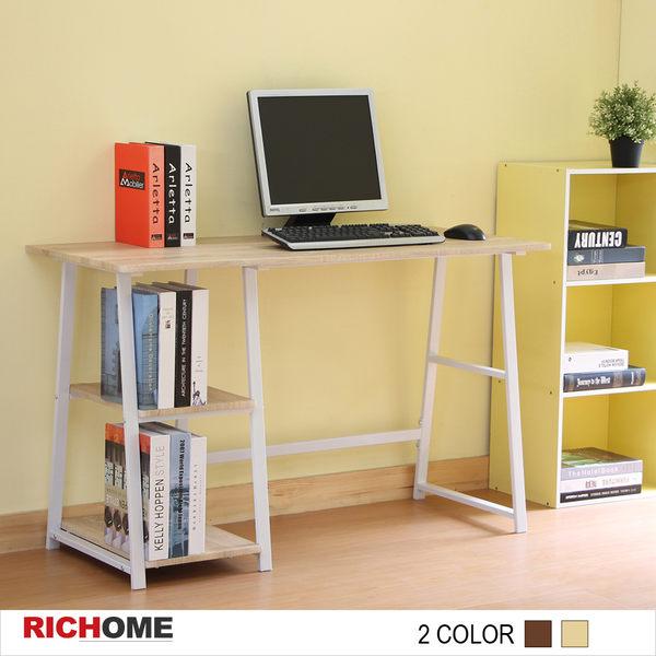 【RICHOME】♥ DE231 ♥《簡約電腦桌-2色》書桌/辦公桌/電腦桌/工作桌/多功能桌/書櫃