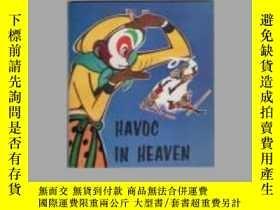 二手書博民逛書店【罕見】1979年出版 大鬧天宮外文版 Havoc in Hea