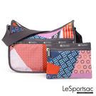 LeSportsac - Standard側背水餃包/流浪包-附化妝包 (拼貼) 7520P F100