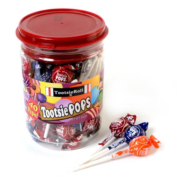 美國【Tootsie POPS】同笑樂棒棒糖 240g