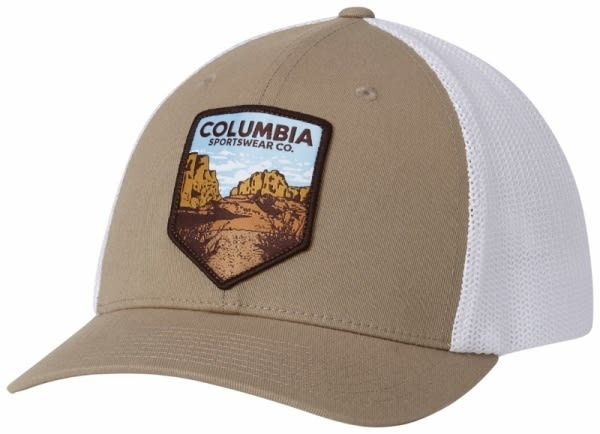 【Columbia】卡車帽 - 灰棕CU9489(GB)
