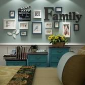 照片牆沙發背景裝飾溫馨餐廳相框牆組合簡約免打孔可自黏 YXS 【快速出貨】