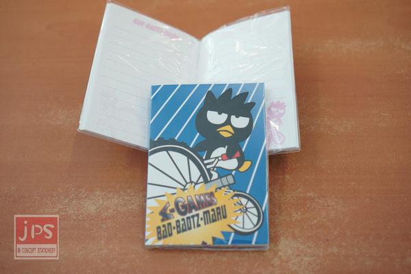 酷企鵝 臉型小筆記本 (腳踏車)