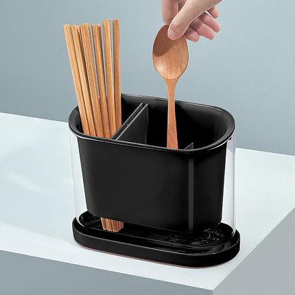 筷子筒瀝水防霉家用廚房放收納盒的置物架餐具托快子勺籠子桶筷簍 淇朵市集