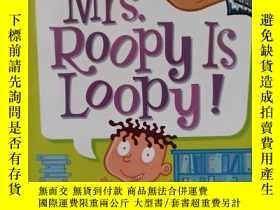 二手書博民逛書店My罕見Weird School #3: Mrs. Roopy Is Loopy! 瘋狂學校#3:盧比夫人真糊塗!