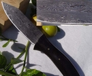 郭常喜與興達刀鋪-郭常喜積層花紋鋼手工製作小獵刀(A0081)