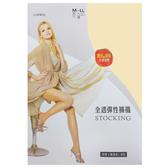 儂儂non-no 全透明彈性褲襪 6雙/組 黑色