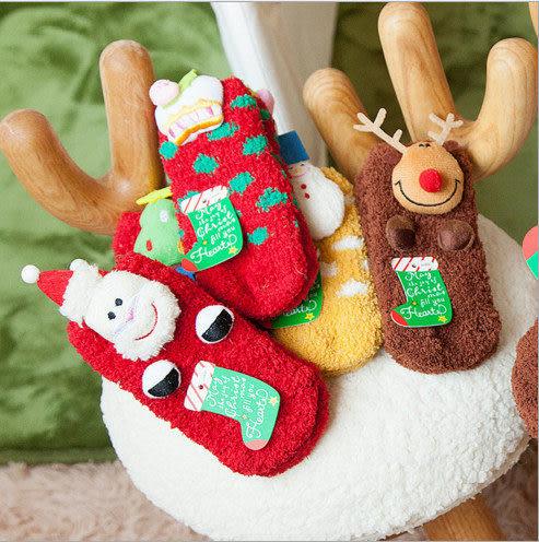 聖誕樹 聖誕節 嚴選熱銷 毛襪 聖誕禮物 聖誕襪 毛巾襪 厚襪子 珊瑚絨 加厚款 兒童款 館長推薦
