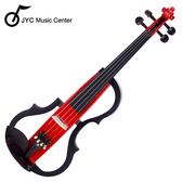 ★JYC Music★JYC SV-150S靜音提琴(紅色)~雙輸出/三段EQ