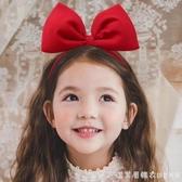 Fructose兒童發箍白雪公主頭箍發卡圣誕節女童蝴蝶結甜美頭發飾 漾美眉韓衣
