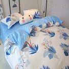 床單被套裸睡床上四件套 學生宿舍簡約1.5米【全館低價限時購】