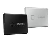 SAMSUNG 三星 T7 Touch 2TB USB 3.2 SSD 移動固態硬碟 黑/銀