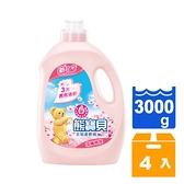 熊寶貝 淡雅櫻花 柔軟護衣精 3000ml (4入)/箱 【康鄰超市】