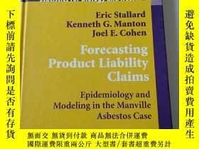 二手書博民逛書店Forecasting罕見Product Liability C