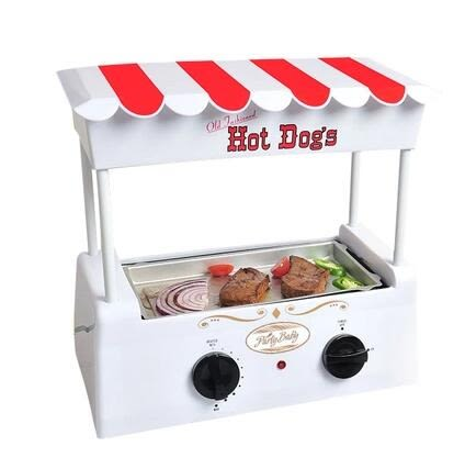 烤腸機家用迷妳小型臺灣全自動商用熱狗烤香腸鐵板燒烤肉多功能機igo220V 伊蒂斯女裝