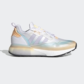 Adidas Zx 2k Boost 女 粉紫 橘 透氣 緩震 運動 休閒鞋 GZ8401