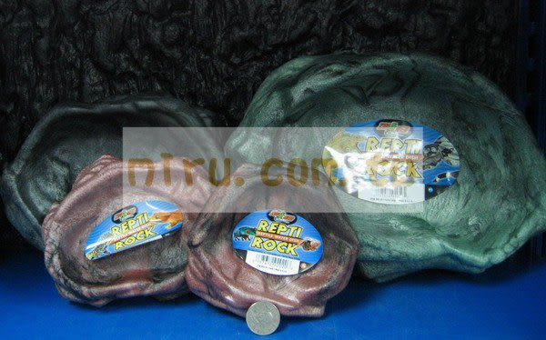 【西高地水族坊】ZOO MED(ZOOMED) 爬蟲專用、石製原始水盤(XL)