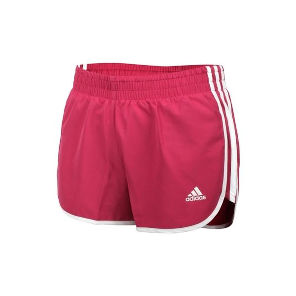 ADIDAS 女慢跑短褲(吸濕排汗 三分褲 運動 路跑 愛迪達 亞規 免運 ≡排汗專家≡