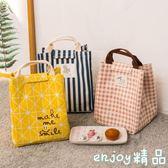 手提包拎飯盒包袋保溫帆布便當包