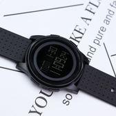 手錶韓版簡約運動手錶港風電子錶夜光防水多功能手錶學生男女錶數字式 貝芙莉女鞋