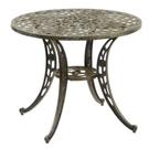 休閒桌│90cm玫瑰編織圓餐桌.公園桌....