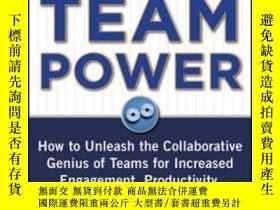 二手書博民逛書店Building罕見Team Power: How To Unl