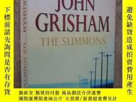 二手書博民逛書店The罕見summons(英文原版16開)Y85718 John