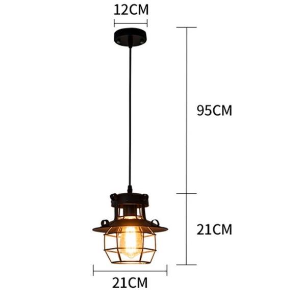 工業風復古鐵藝吊燈 Loft吸頂燈餐客廳酒吧台咖啡網美造型吊燈(單組)