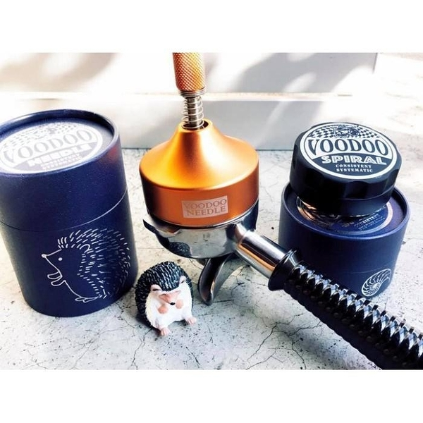 【沐湛咖啡】Voodoo Needle 巫毒針 佈粉器 整粉器 金色 國際比賽選手愛用款 營業用提升萃取穩定