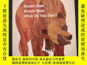 二手書博民逛書店Brown罕見bear Brown bear What do you seeY331354 bill mart