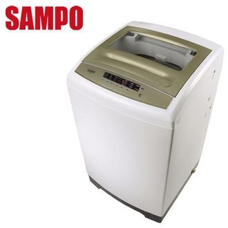 SAMPO 聲寶 ES-A10F(Q) 10公斤 單槽抗菌全自動洗衣機