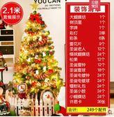 現貨  郎森聖誕節商場店鋪裝飾品聖誕樹套餐12.1米60cm加密QM  莉卡嚴選