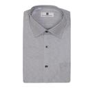 【南紡購物中心】【PIERRE BALMAIN 皮爾帕門】長袖襯衫-黑色斜紋(F1)