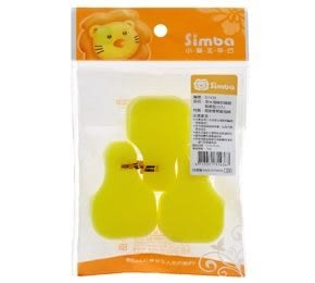 『121婦嬰用品館』小獅王辛巴Simba 奈米海綿奶嘴刷替換包-3入