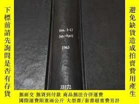 二手書博民逛書店chemistry罕見and industry nos.1-17 1963 (化學與工業)Y200392