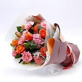 幸福婚禮小物「親情康乃馨花束」鮮花/花束/母親節禮物/康乃馨
