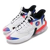 Nike 籃球鞋 Jordan React Elevation PF 白 藍 男鞋 運動鞋 喬丹 D77 【ACS】 DC5188-102