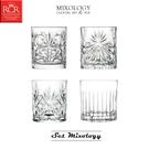 義大利RCR MIXOLOGY SET 經典酒杯4件組 水晶玻璃杯 雞尾酒杯 威士忌杯