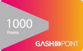 遊戲橘子 GASH 1000點 點數卡 - 可刷卡【嘉炫電腦JustHsuan】