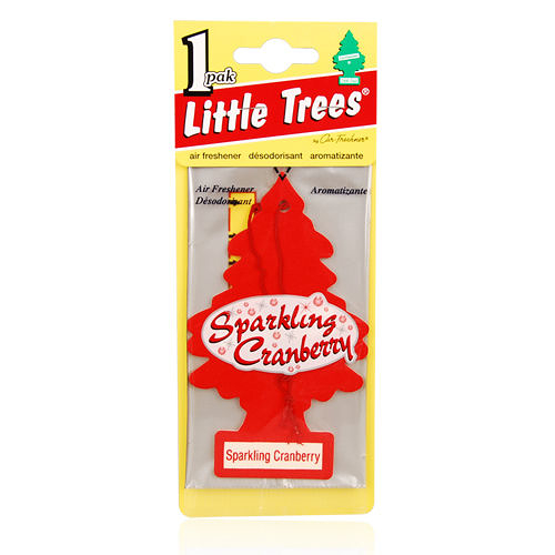 LITTLE TREES 美國小樹香片-蔓越莓Sparkling Cranberry(10g)【美麗購】