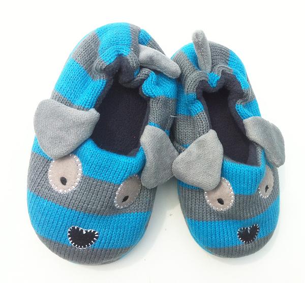 [韓風童品]冬季必備小狗拖鞋/卡通拖鞋/地板 男童拖鞋 兒童拖鞋 女童室內拖鞋 嬰兒保暖鞋