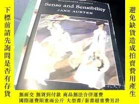 二手書博民逛書店英文原版Sense罕見and Sensitivity理智與情感Y
