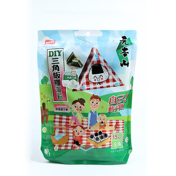 元本山DIY三角飯糰海苔19.5g
