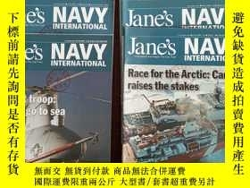 二手書博民逛書店IHS罕見JANE S INTERNATIONAL DEFENCE REVIEW(2008年1、5、9、10月號;