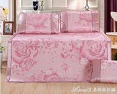 涼席冰絲席三件套雙人1.5 1.8m2.0寬2x2.2米床上空調席可折疊竹艾美時尚衣櫥igo