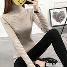 新款女高領毛衣打底衫長袖套頭加厚修身白色緊身針織冬 露露日記