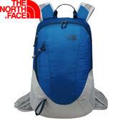 【The North Face 24L 輕量多功能背包 藍/灰】 NF00CWU1/輕量背包/後背包/背包★滿額送